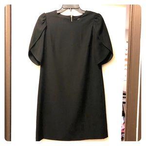 Cynthia Steffe Black Mini Dress {Size 4}
